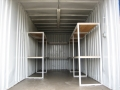 Steel Shelves with Lighting 1