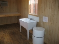Office with Sink & Hot Water Tank