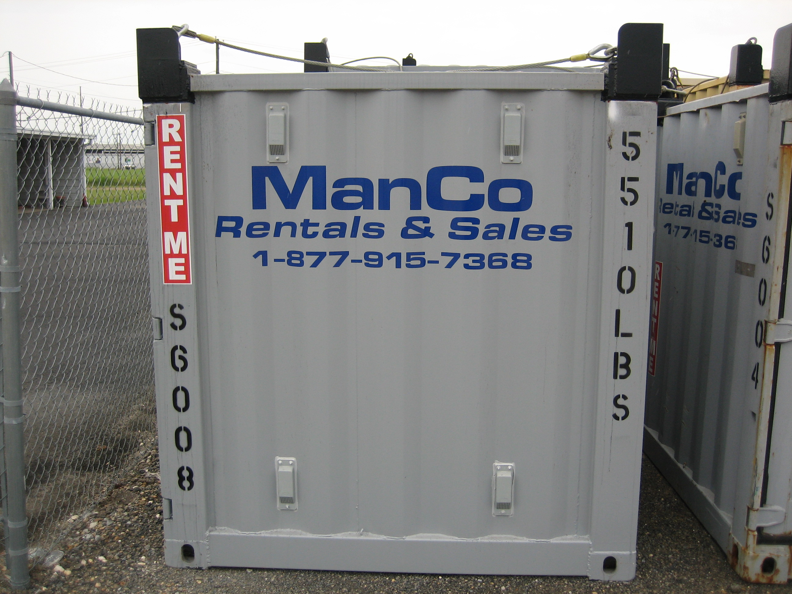 Offshore Container Rental